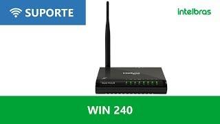 Como configurar a função repetidor wireless no WIN 240 - i3136