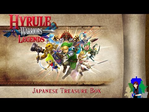 The Legend of Zelda Hyrule Warriors Legends Japanese Treasure Box Unboxing