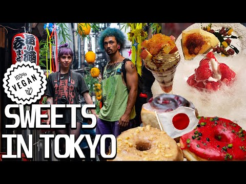 Tokyo, Japan Vegan Sweets You NEED to See | Underground Punk Scene, Japan | Life in Japan Vlog Ep 17