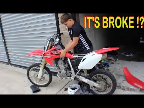 WHAT'S WRONG WITH FATTY'S BIKE !?