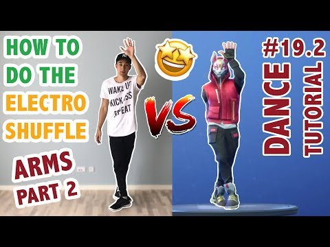 How To Do The Electro Shuffle In Real Life (PART 2: ARMS) | Dance Tutorial #19.2