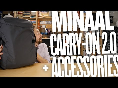 Minaal 2.0 Travel Backpack Review (+ Accessories)