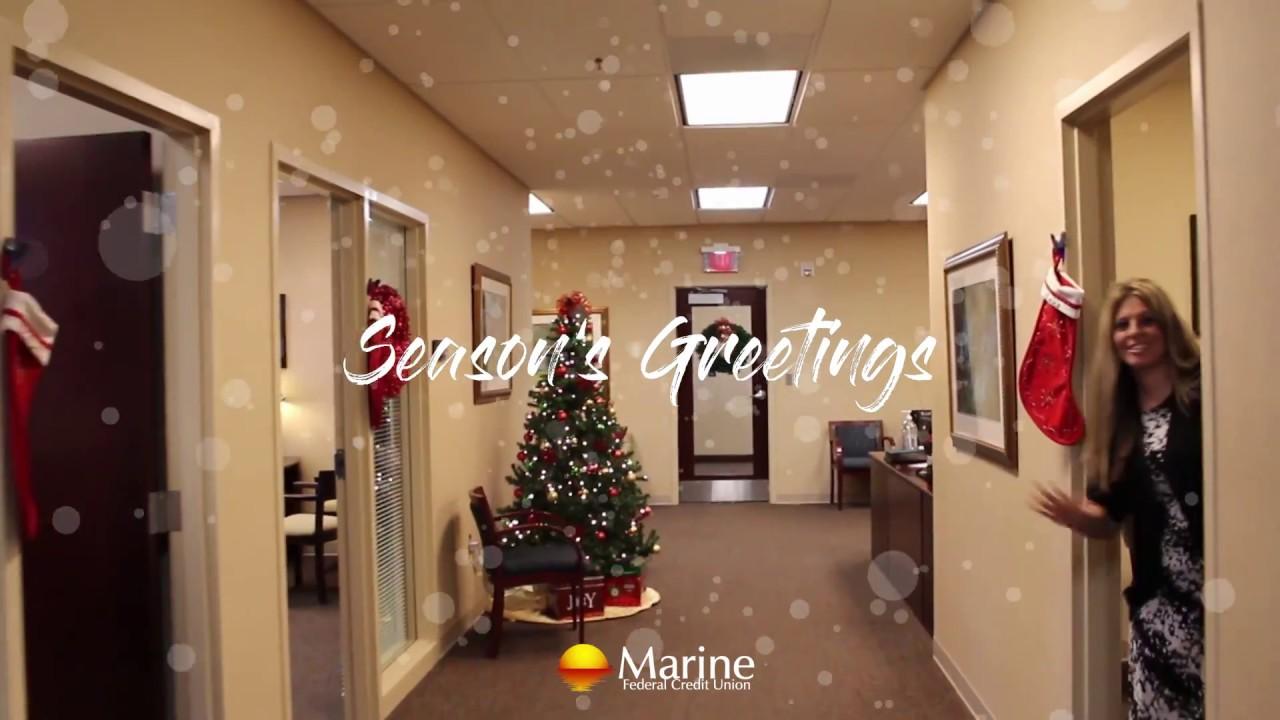 Seasons Greetings From Marine Fcu Youtube