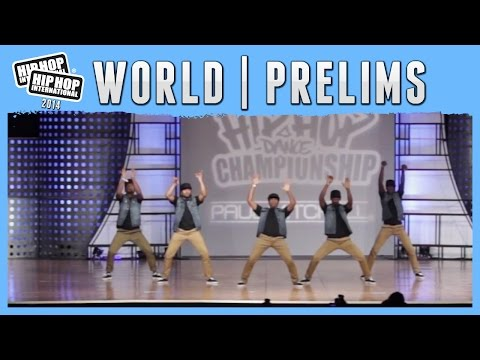 Stars on Earth - Nigeria (Adult) at the 2014 HHI World Prelims