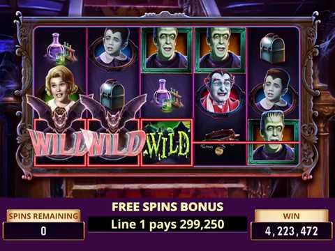 Play Free Munster Slot Machine