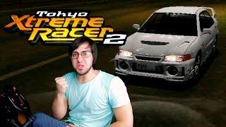 Шоссейный японский гончик в Tokyo Xtreme Racer 2 [Dreamcast]