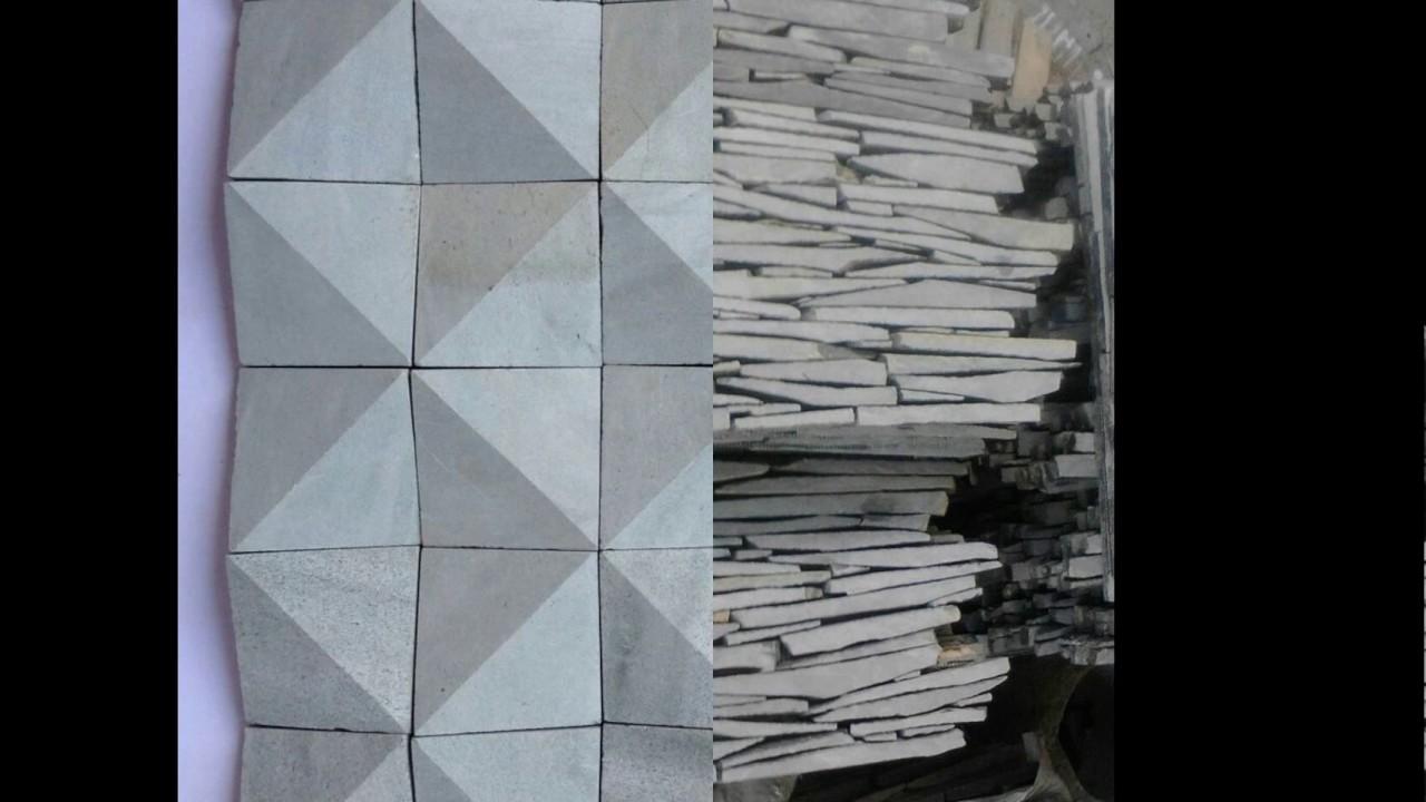 Batu Alam Dinding Depan Rumah 0811 374 047 Youtube