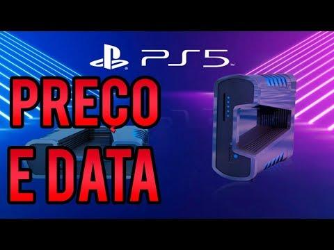 Playstation 5 (PS5) PREÇO E DATA DE LANÇAMENTO VAZADOS (rumor)