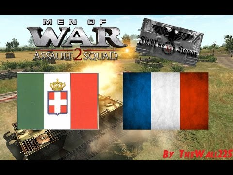Men Of War Assault Squad 2 GSM Online Battle #1 HD ITA - ITA vs FRA - Italia Italia Italia
