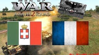 Men Of War Assault Squad 2 GSM Online Battle #1 HD ITA - ITA vs FRA - Italia Italia Italia