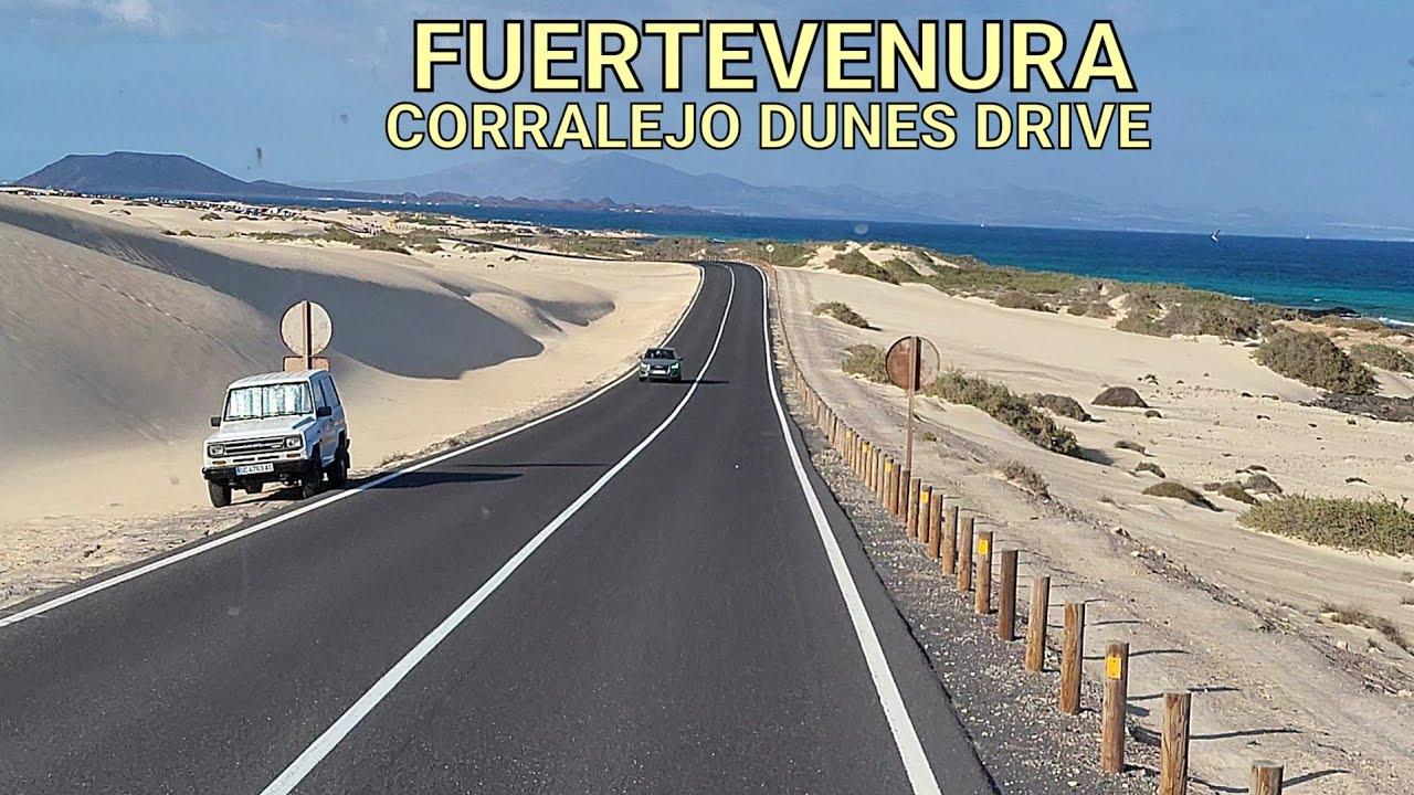 CORRALEJO DUNES DRIVE - FUERTEVENTURA 2021 4K
