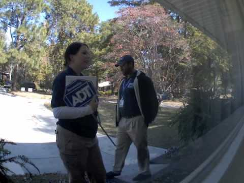 ADT Reps Are So Silly - YouTube