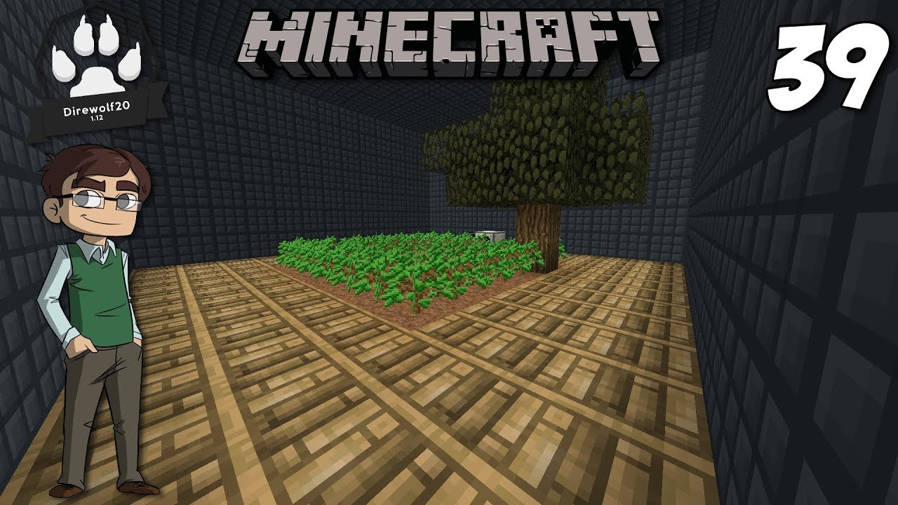 Automated Tree Farm With Industrial Foregoing 1 12 Modded Minecraft Direwolf20 E39 Youtube