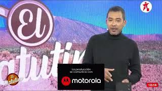#EnVivo El Matutino - Martes 27 de Abril