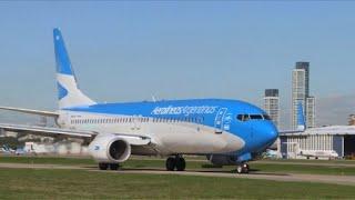 Video: Aerolíneas Argentinas cancela su vuelo semanal a Venezuela