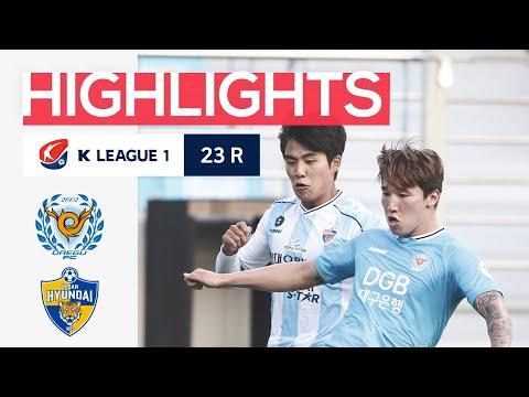 Daegu Ulsan Hyundai Goals And Highlights