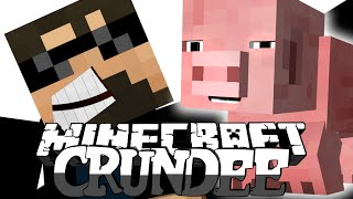Minecraft: CRUNDEE CRAFT | THE BIG PIG TROLL!! [7]