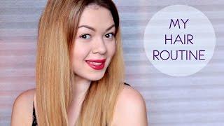 My HAIR ROUTUNE | Мой уход за окрашенными волосами | Восстанавливаем волосы | EH(, 2016-02-24T20:53:40.000Z)