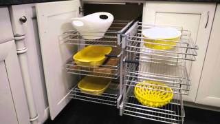 Rev-A-Shelf 5PSP Blind Corner  Promo Video by KitchenSource.com