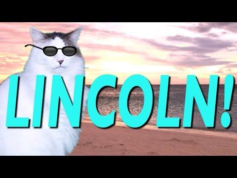 HAPPY BIRTHDAY LINCOLN! - EPIC CAT Happy Birthday Song