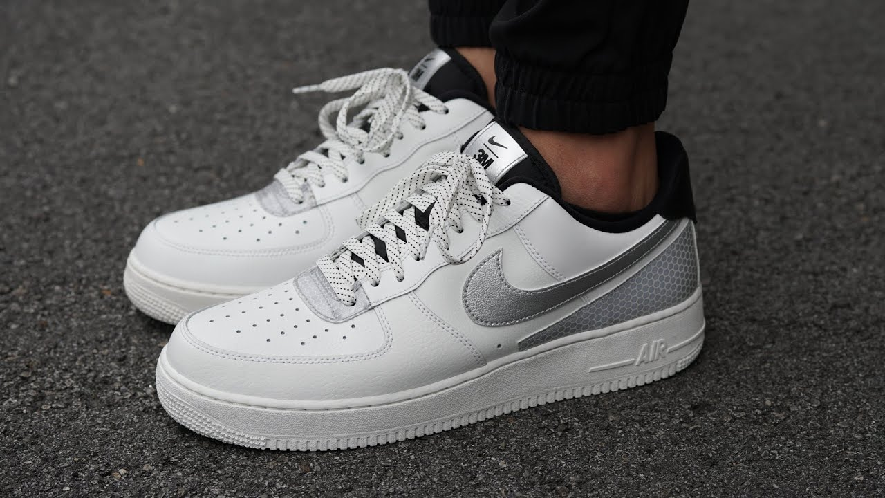 3M x Nike Air Force 1'07 LV8 REVIEW & ON FEET - Subtle 3M Accents Make this AF1 POP