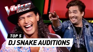 BEST DJ SNAKE Blind Auditions in The Voice