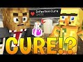 THE CURE TO THE INFECTION! - MINECRAFT FEAR THE CRAFTING DEAD #8