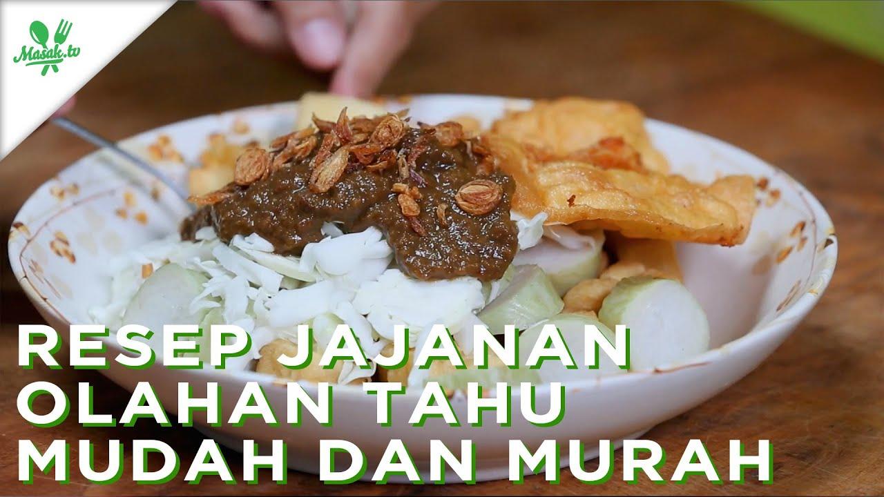 Resep Jajanan Olahan Tahu MUDAH dan MURAH