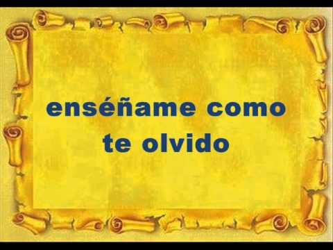 BINOMIO DE ORO COMO TE OLVIDO (LETRA)