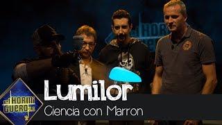 Marron sorprende a Fernando Alonso con el lumilor, la pintura brillante - El Hormiguero 3.0