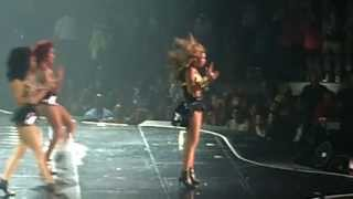 "Beyonce ""Single Ladies+Movin on Up (The Jeffersons) "" Izod Center 7-31-13"