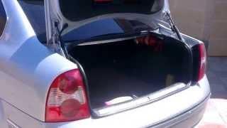Комфортное открытие багажника. 1.