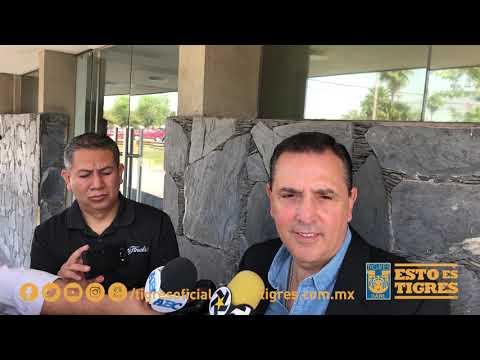 Conferencia de prensa del 13 de marzo, con Miguel Ángel Garza