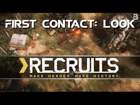 First Contact: Look - Recruits - Top Down Squad Based Shooter