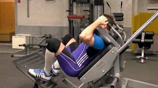 видео Упражнение Гак-приседания