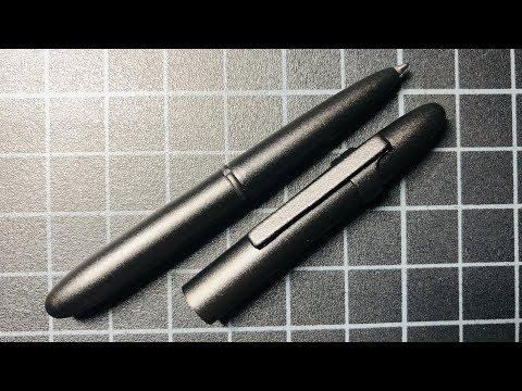 Fisher Space Pen Bullet Pen Review (400B Matte Black)