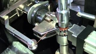 Armature rotor winder with single flyer simple coil winder  WIND-RW-S Wind Automation