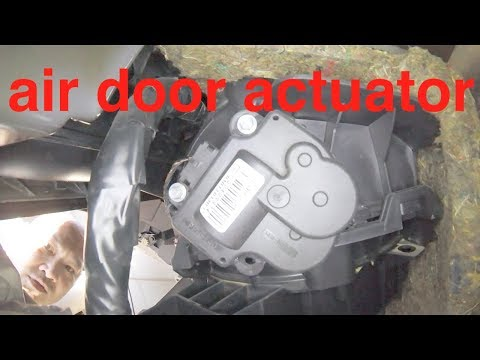Clicking Noise At DASH | Air Door Actuator Replacement Chevy Impala Malibu √ Fix It Angel