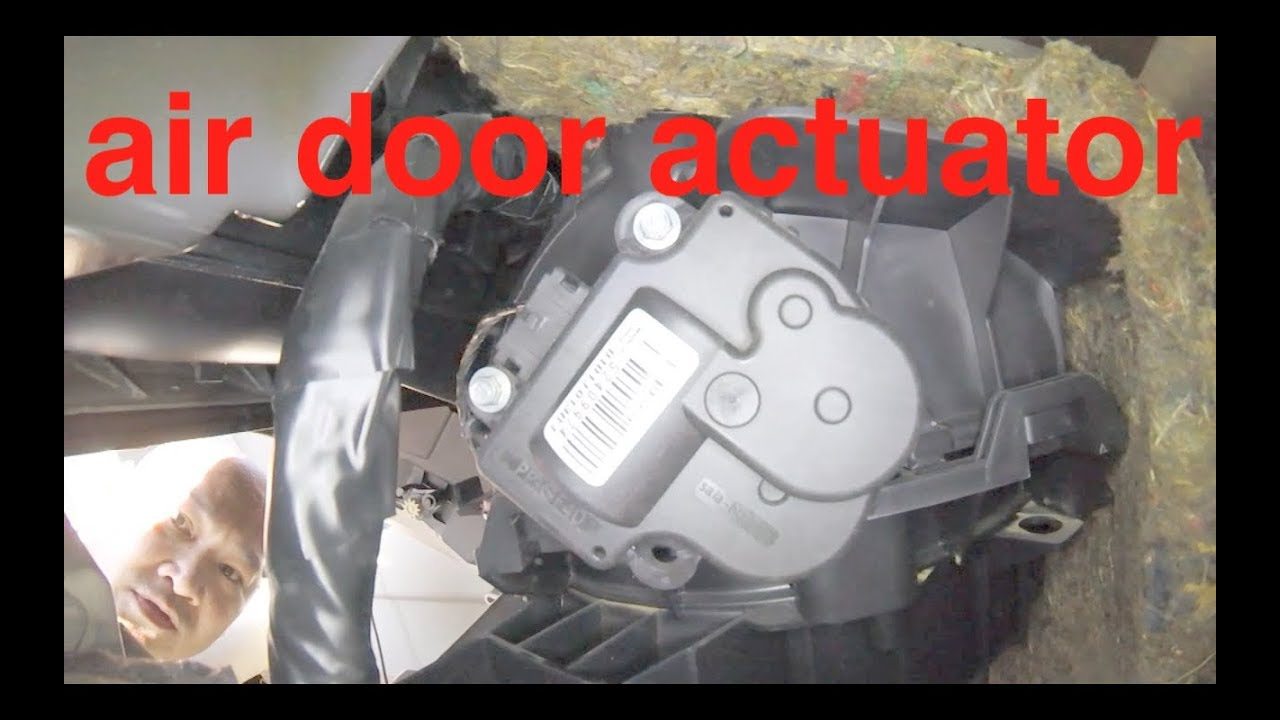 Clicking Noise At Dash Air Door Actuator Replacement Chevy Impala Malibu Fix It Angel