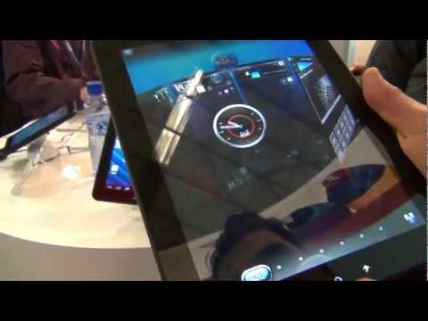 ViewSonic ViewPad E100 video preview Mobilissimo.ro MWC 2012