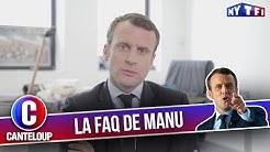 """Imitation d'Emmanuel Macron - """"Merci Emmanuel, et super boulot !"""" - C'est Canteloup"""