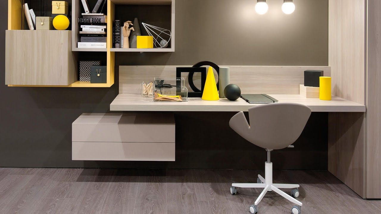 Study Table Design Ideas For Students Small Space Study Table Designs Latest 2019 Youtube