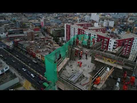Edificio Icono - Breña - Paz Centenario - Drone 3