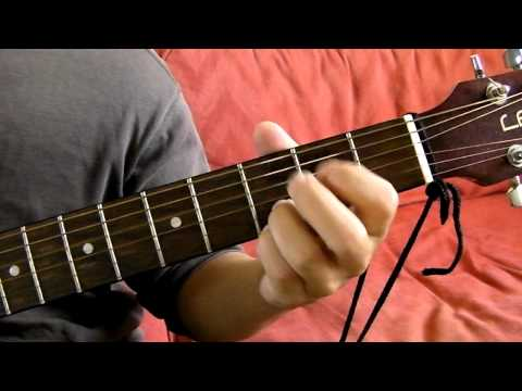 G Dsus4 Em7 Cadd9 Guitar Chord Progression Demonstration