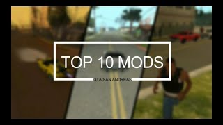 GTA SA - TOP 10 MODS