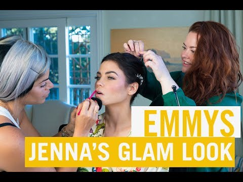 HOW TO: Red Carpet Glam Makeup  Emmy Edition  Jenna Dewan