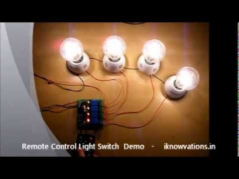 ir remote control light switch youtube. Black Bedroom Furniture Sets. Home Design Ideas
