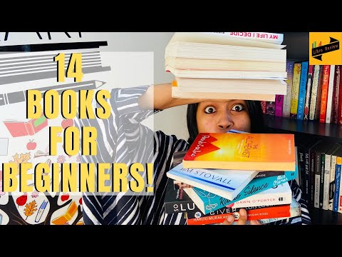 14 MUST READ BOOKS for BEGINNERS | 8 Fiction books | 6 Non-Fiction books | Libro review