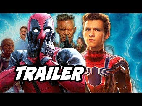 Deadpool 2 Trailer Spider-Man and Marvel Easter Eggs Breakdown