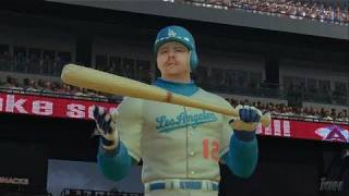 The Bigs PlayStation 3 Gameplay - Dodgers Strike First